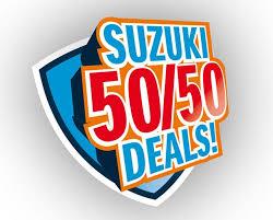 50 50 deal suzuki